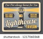Lighthouse Tavern Advertisemen...