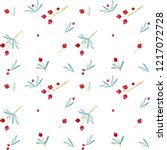 seamless christmas pattern with ...   Shutterstock .eps vector #1217072728