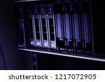 slot hard disk sas server.blade ...   Shutterstock . vector #1217072905
