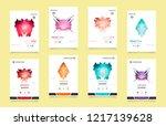 business abstract vector...   Shutterstock .eps vector #1217139628