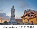 benoa  denpasar  bali  ... | Shutterstock . vector #1217183488