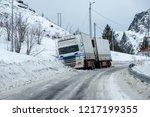 Trailer Truck Accident Slipper...