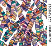 colorful seamless pattern of... | Shutterstock .eps vector #1217245015