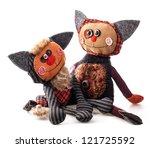 Handmade Rag Doll Cute Cats...