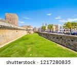 bari  italy   jul 8  2018  view ...   Shutterstock . vector #1217280835