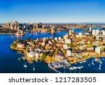 lower north shore kirribilli... | Shutterstock . vector #1217283505