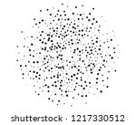 splatter background. black... | Shutterstock .eps vector #1217330512