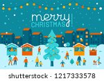 vector illustration in flat... | Shutterstock .eps vector #1217333578