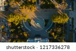 autumn aerial top down view of... | Shutterstock . vector #1217336278