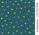 vector abstract triangles... | Shutterstock .eps vector #1217337058