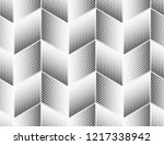 abstract geometric pattern. a... | Shutterstock .eps vector #1217338942