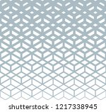 abstract geometric pattern.... | Shutterstock .eps vector #1217338945