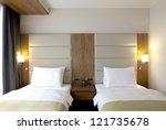Stock photo hotel room 121735678