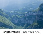 calm and peaceful dolomites... | Shutterstock . vector #1217421778