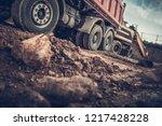 Ground Works Construction Site. ...