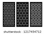 Set Of Decorative Vector Panel...