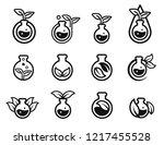 environmental chemistry are... | Shutterstock .eps vector #1217455528