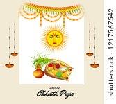 vector illustration of happy... | Shutterstock .eps vector #1217567542