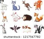 Group Of Cartoon Animals....