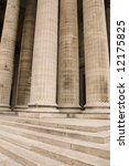 Classical Antic Columns At The...
