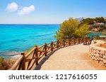 cala fustera beach in benissa... | Shutterstock . vector #1217616055