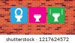 World Toilet Day. Vector Eps...