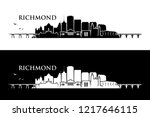 richmond skyline   virginia ...   Shutterstock .eps vector #1217646115