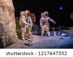 houston  texas   august  2018 ... | Shutterstock . vector #1217647552