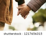 close up of senior man and...   Shutterstock . vector #1217656315