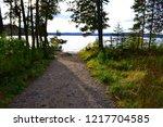 algonquin provincial park ... | Shutterstock . vector #1217704585