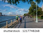 new york city  usa   october 18 ... | Shutterstock . vector #1217748268