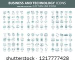 business and marketing ... | Shutterstock .eps vector #1217777428