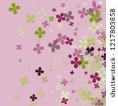 violet abstract colorful green... | Shutterstock .eps vector #1217803858