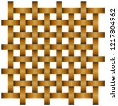 repeated weave rattan pattern ...   Shutterstock .eps vector #1217804962