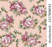 shabby chic or granny chic... | Shutterstock . vector #1217808052