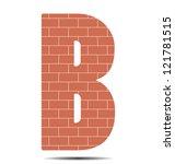 Vector Illustration Letter B In ...