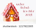 gingerbread  white background ... | Shutterstock . vector #1217822305