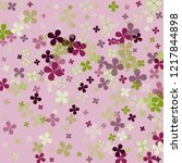 violet abstract colorful green... | Shutterstock .eps vector #1217844898