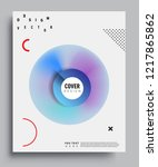 modern abstract covers template.... | Shutterstock .eps vector #1217865862