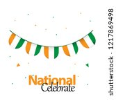 nigeria national celebrate... | Shutterstock .eps vector #1217869498