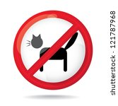 No Cats Sign  Do Not Allowed ...