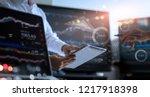 business team working together. ... | Shutterstock . vector #1217918398