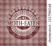 moth eaten red seamless... | Shutterstock .eps vector #1217983168