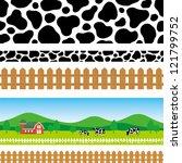 pastoral background | Shutterstock .eps vector #121799752