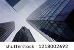 toronto financial district  ... | Shutterstock . vector #1218002692