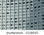 windows of luxury hotel | Shutterstock . vector #1218010