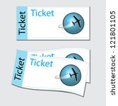 tickets | Shutterstock .eps vector #121801105