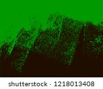 black and green abstract grunge ... | Shutterstock .eps vector #1218013408