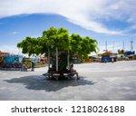 yalta  crimea may 30  2018 ... | Shutterstock . vector #1218026188