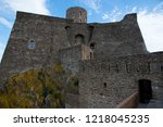 the fort saint elme above... | Shutterstock . vector #1218045235